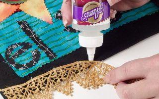 Какой клей подойдет для ткани