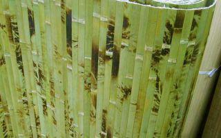 Где в интерьере лучше применять бамбуковые обои