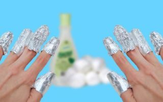 Как безболезненно снять супер клей с ногтей?