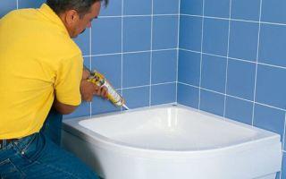 Выбираем клей для акриловых ванн и душевых кабин