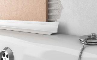 Как правильно приклеить керамический бордюр на ванну