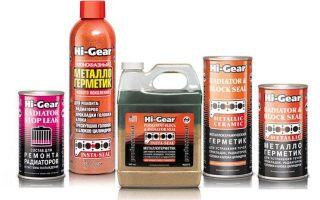 Описание герметика Hi-Gear для системы охлаждения