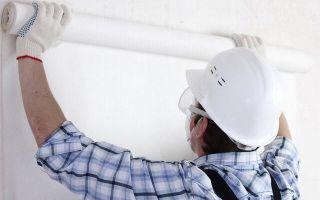 Как правильно клеить стеклообои на стены и потолок под покраску