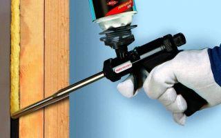 Как выбрать монтажную пену для гидроизоляции