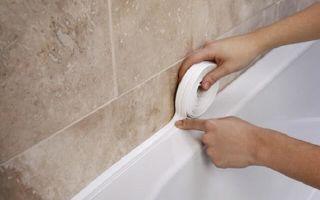 Как выбрать и установить самоклеящуюся ленту для ванны?