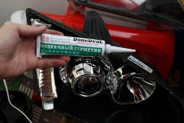 Какой герметик для фар автомобиля выбрать?