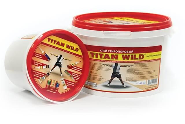 Клей стиропоровый Титан (мастика)