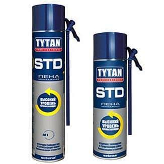 Монтажная пена Tytan STD
