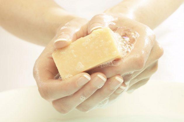 Вымойте руки