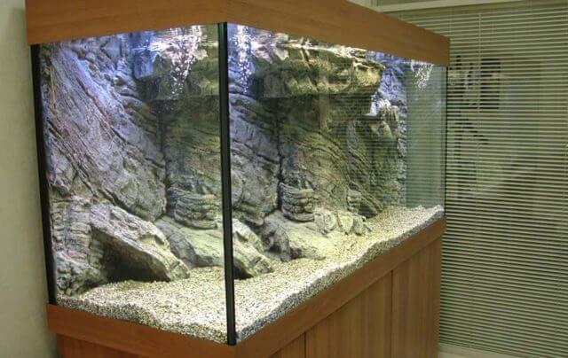 Как наклеить фон на аквариум в домашних условиях