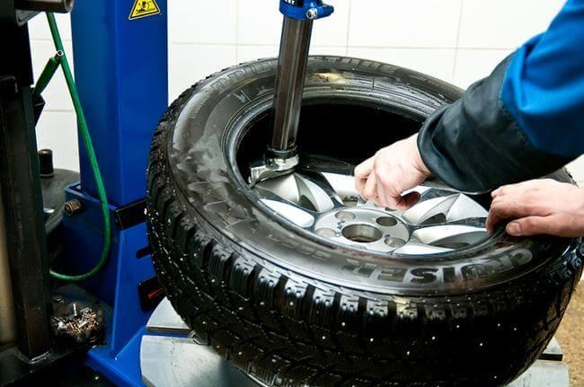 perebortirovka kolesa - Чем заклеить шину автомобиля