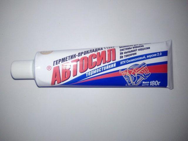 Как использовать герметик Автосил