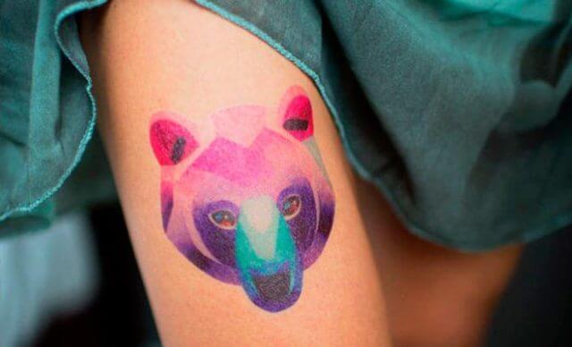 Как клеить временные татуировки и наклейки?