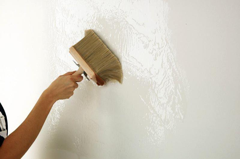 Порядок поклейки виниловых обоев на стены и потолок