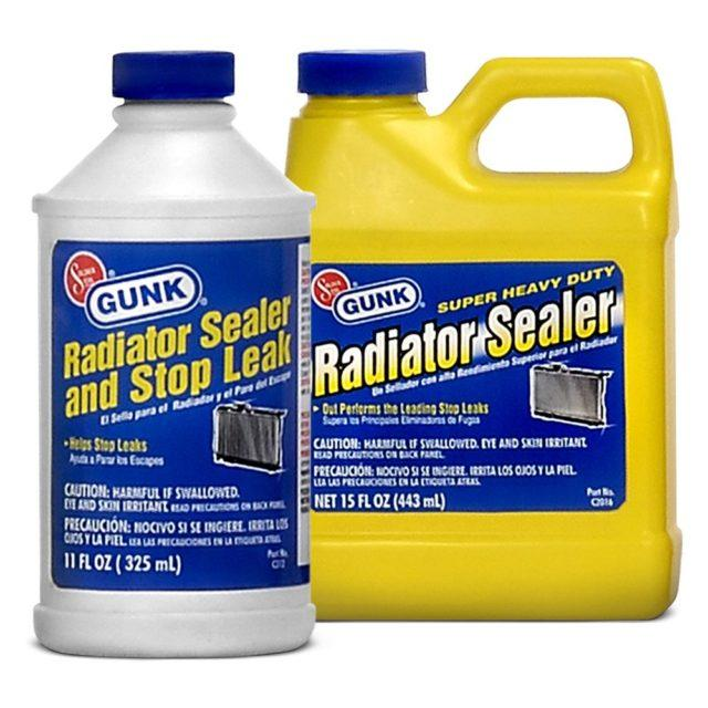 Геретик Gunk Radiator Sealer Super