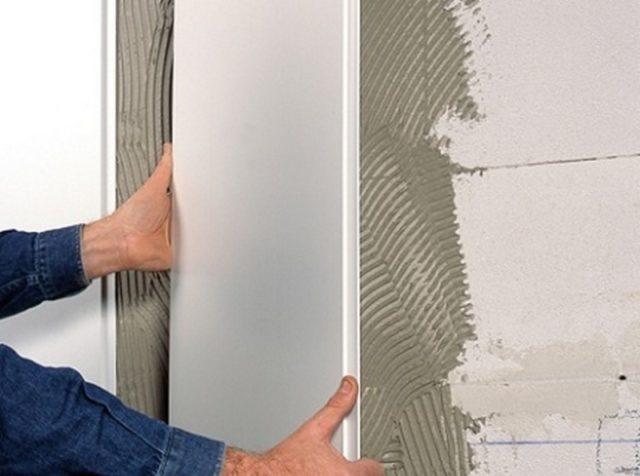 Как выбрать клей для панелей ПВХ в ванной