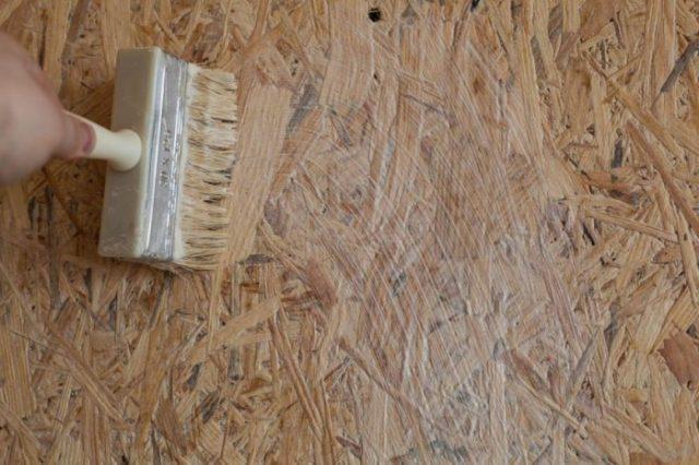 Несколько советов о поклейке обоев на ОСБ плиту без шпаклевки