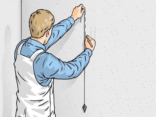 Инструкция поклейки обоев стык в стык