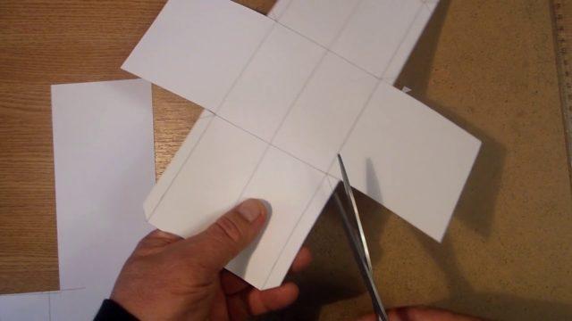 Как правильно склеить куб из бумаги