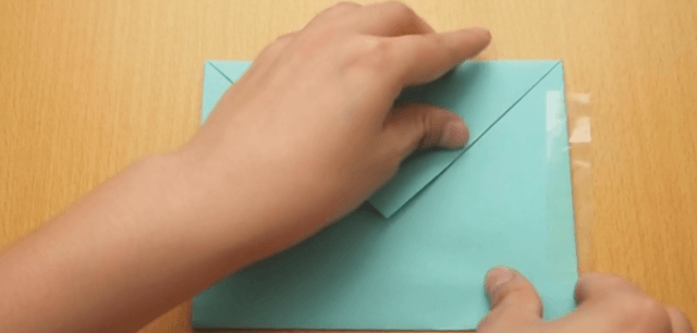 Как правильно сделать конверт без клея