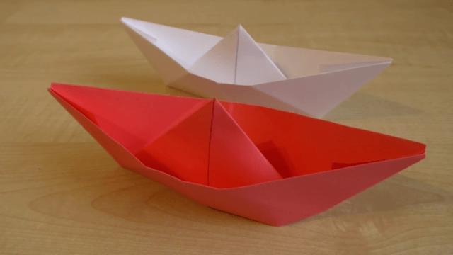 Какие можно сделать поделки из бумаги без клея и ножниц