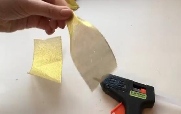Как правильно сделать бант на елку из ленты