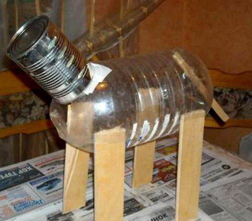 Как сделать поделки из монтажной пены