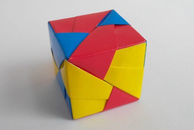 Как склеить куб из бумаги схема, материалы, советы