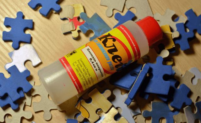Как склеить пазл: пошаговая инструкция и выбор клея