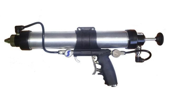 Виды и характеристика пистолета для герметика
