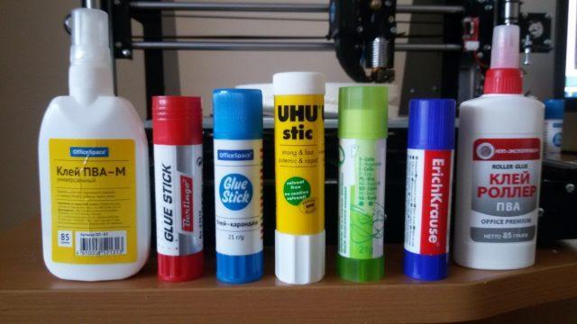 Производители клеящих карандашей и основные характеристики